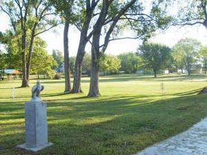 Eagle Memorial in Park (2)