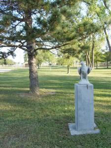 Eagle Memorial in Park